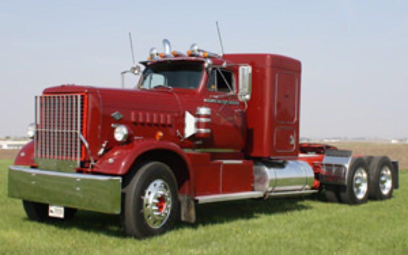 Trucks On Display Iowa 80 Trucking Museum